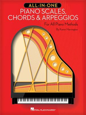 All-In-One Piano Scales, Chords And Arpeggios