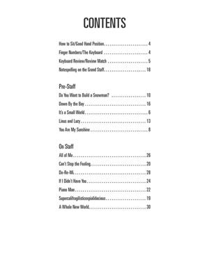 Hal Leonard Piano for Kids Songbook