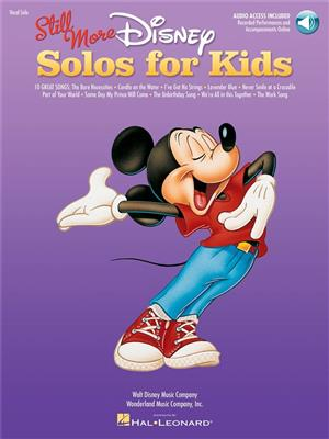 Still More Disney Solos For Kids Cover