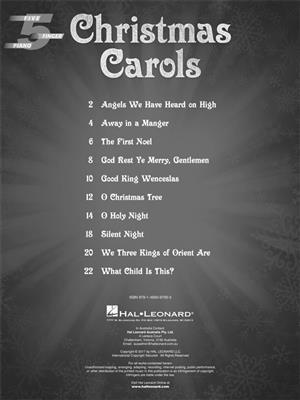 Hal Leonard: Christmas Carols