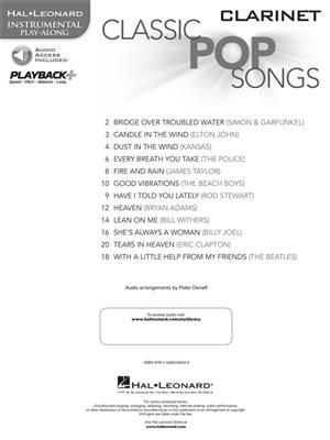 Classic Pop Songs (Clarinet)