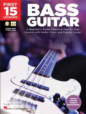 First 15 Lessons: Bass Guitar