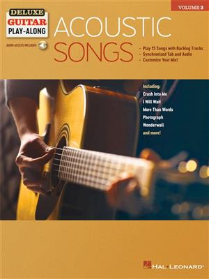 Deluxe Guitar Play-Along: Acoustic Songs