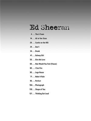 Deluxe Guitar Play-Along: Ed Sheeran