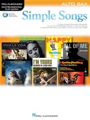 Simple Songs: Alto Saxophone
