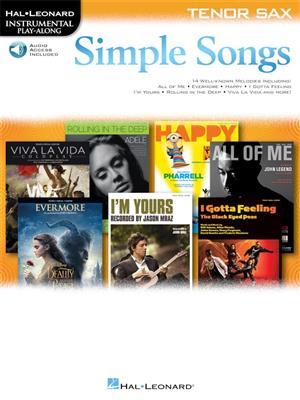 Simple Songs: Tenor Saxophone