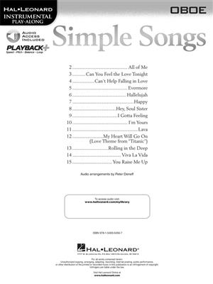 Simple Songs: Oboe