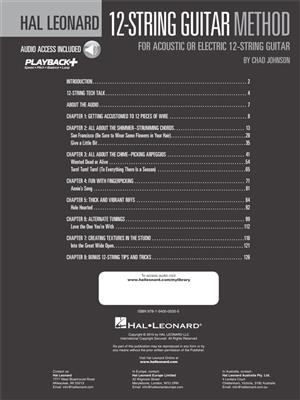 Hal Leonard 12-String Guitar Method