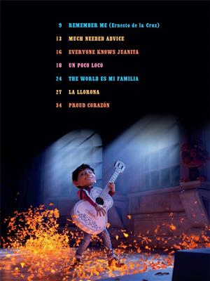 Disney Pixar's Coco For Easy Piano