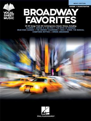 Broadway Favorites - Men's Edition