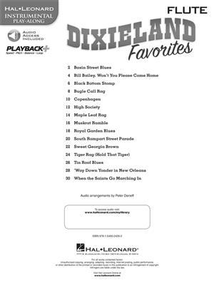 Hal Leonard Instrumental Play-Along: Dixieland Favorites - Flute (Book/Online Audio)
