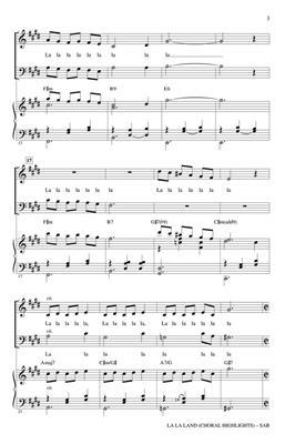 La La Land (Choral Highlights) (Arr. Brymer) (SAB)