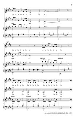 La La Land (Choral Highlights) (Arr. Brymer) (SSA)