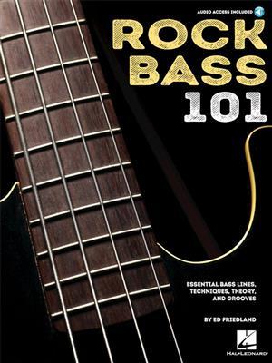Cover for Ed Friedland Rock Bass 101