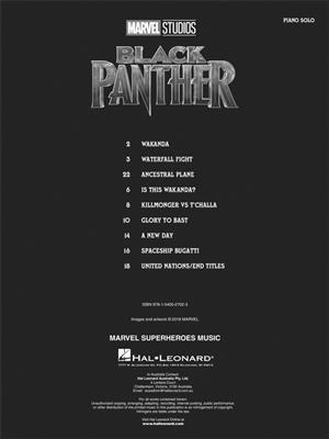 Ludwig Goransson: Black Panther - Music From The Marvel Studios Motion Picture Score
