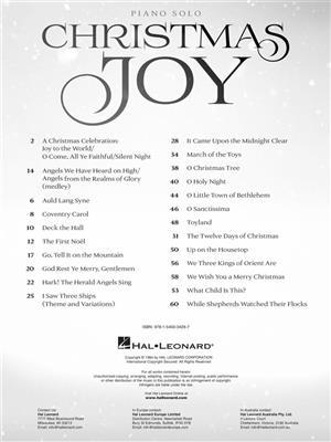 Christmas Joy (Arr. Mac Huff)