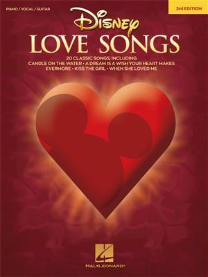 Disney Love Songs: 3rd Edition (PVG)