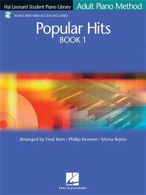 Hal Leonard Student Piano Library: Adult Piano Method - Popular Hits Book 1 (Book/Online Audio)