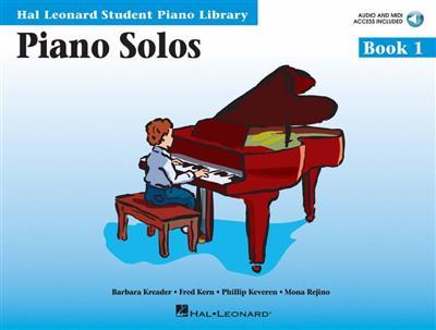 Hal Leonard Student Piano Library: Piano Solos Book 1 (Book/Online Audio)
