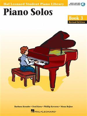 Hal Leonard Student Piano Library: Piano Solos Book 3 (Book/Online Audio)