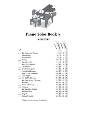 Hal Leonard Student Piano Library: Piano Solos Book 5
