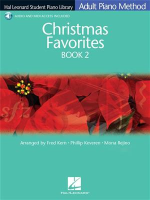 Hal Leonard Student Piano Library: Adult Piano Method - Christmas Favorites Book 2 (Book/Online Audio)