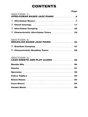 Hal Leonard Keyboard Style Series: Latin Jazz Piano