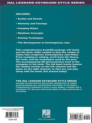 Hal Leonard Keyboard Style Series:  Contemporary Jazz Piano - The Complete Guide (Book/Online Audio)