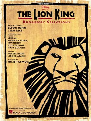 The Lion King: Broadway Selections Cover