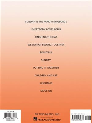 Stephen Sondheim: Sunday In The Park With George - Vocal Selections (Revised Edition)