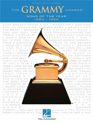 The Grammy Awards: Song Of The Year 1990-1999