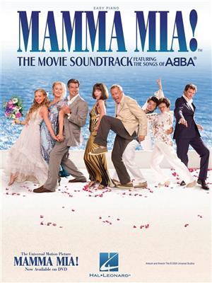 ABBA: Mamma Mia! - The Movie Soundtrack (Easy Piano). Sheet Music