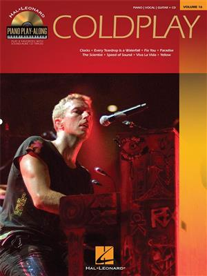 Piano Play-Along Volume 16: Coldplay (Book/Online Audio)