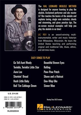 Hal Leonard Ukulele Method (DVD)