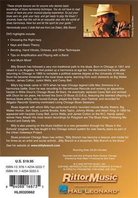 Billy Branch's Blues Harp: Harmonica DVD