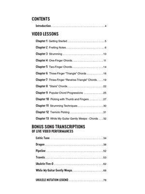 Jake Shimabukuro Teaches Ukulele Book Video Online
