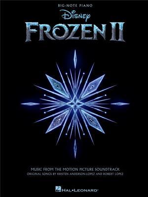 Frozen 2 Big-Note Piano Songbook