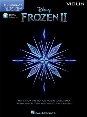Cover for Frozen II Instrumental Play Along Violin