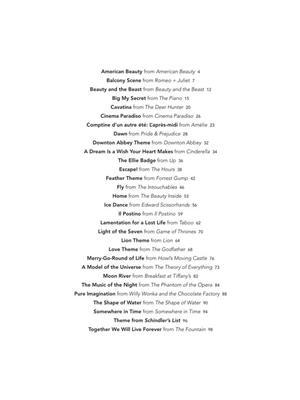 Peaceful Piano Solos: Soundtracks