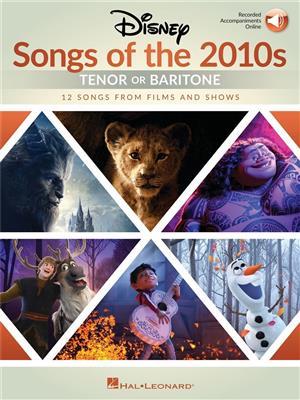 Disney Songs of the 2010s: Tenor or Baritone