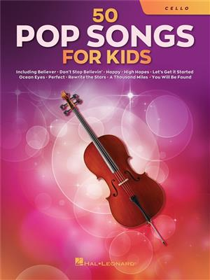 Cover for 50 Pop Songs for Kids
