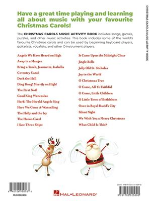 Christmas Carols Music Activity Book