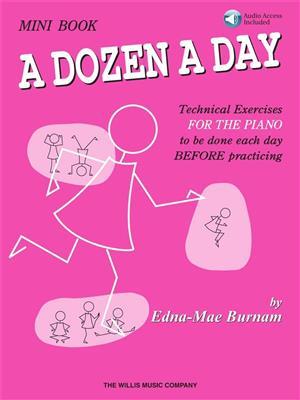 A Dozen A Day (Mini Book/Online Audio)