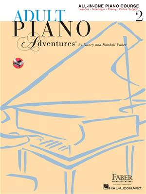 Adult Piano Adventures: All-in-One Lesson Book 2