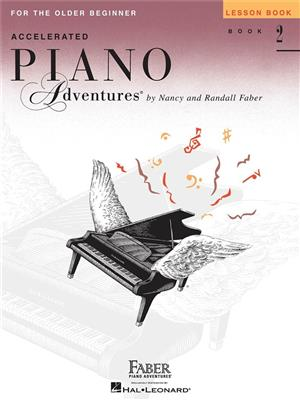 Accelerated Piano Adventures - Lesson Book 2 (International Edition)