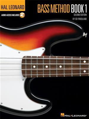 Hal Leonard Bass Method: Book 1 (Second Edition) (Book/Online Audio)