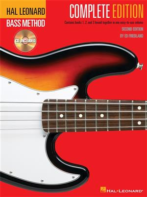 Hal Leonard Bass Method: Complete Edition (Second Edition) (Book/Online Audio)