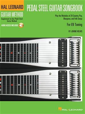 Hal Leonard Guitar Method: Pedal Steel Guitar Songbook (Book/Online Audio)