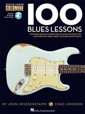 Chad Johnson/John Heussenstamm: 100 Blues Lessons (Book/Online Audio)