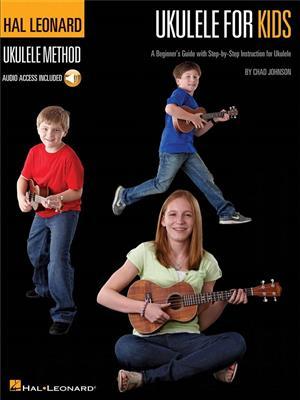 The Hal Leonard Ukulele Method: Ukulele For Kids (Book/Online Audio)